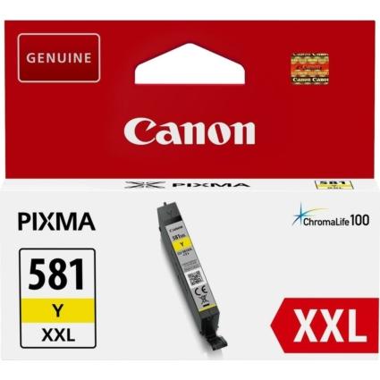 Canon CLI581XXL Patron Yellow /eredeti/