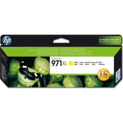 HP CN628AE Patron Yellow 6,6k No.971XL (Eredeti)