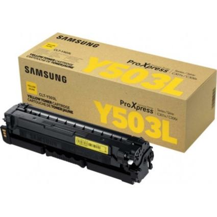 Samsung SLC3010/3060 Yellow Toner  CLT-Y503L/ELS (SU491A) (Eredeti)