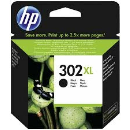 HP F6U68AE Patron Bk No.302XL (Eredeti)