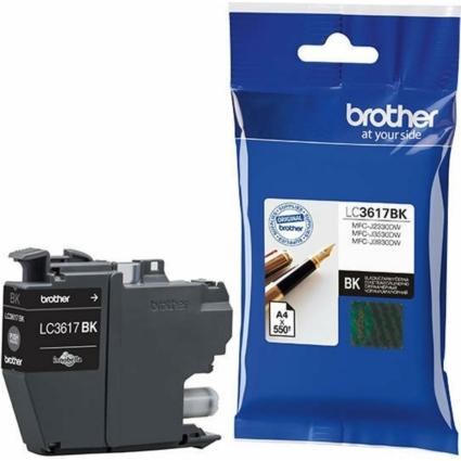 Brother LC3617BK tintapatron (Eredeti)