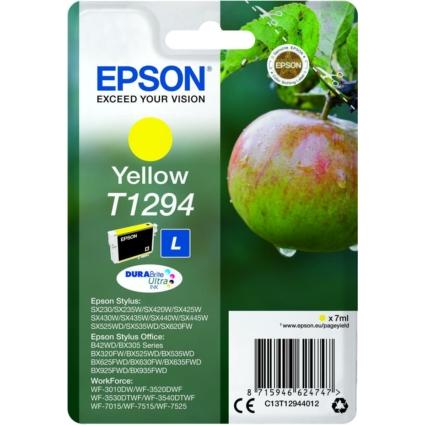 Epson T1294 Patron Yellow 7ml (Eredeti)