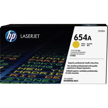 HP CF332A Toner Yellow 15k No.654A (Eredeti)