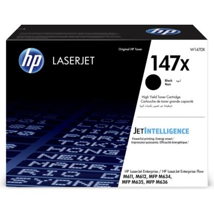 HP W1470X Toner Black 25,2k No.147X (Eredeti)