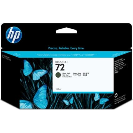 HP C9403 Patron Matt Bk 130ml No.72 (Eredeti)