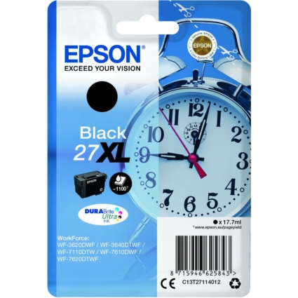 Epson T2711 Patron Black 17,7ml (Eredeti)