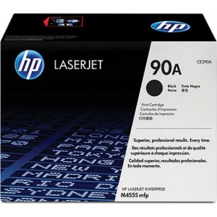 HP CE390A Toner Black 10k No.90A (Eredeti)