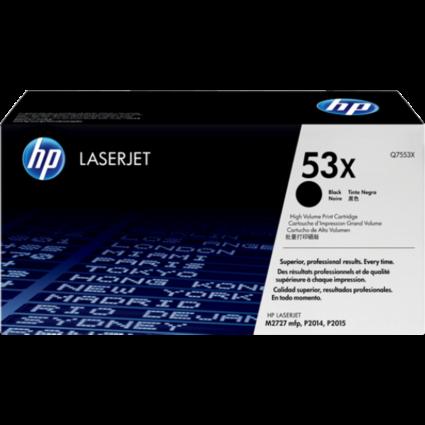 HP Q7553X Toner Black 7k No.53X (Eredeti)
