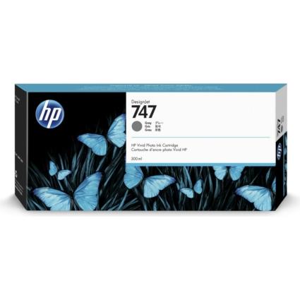 HP P2V86A Patron Gray 300ml No.747 (Eredeti)