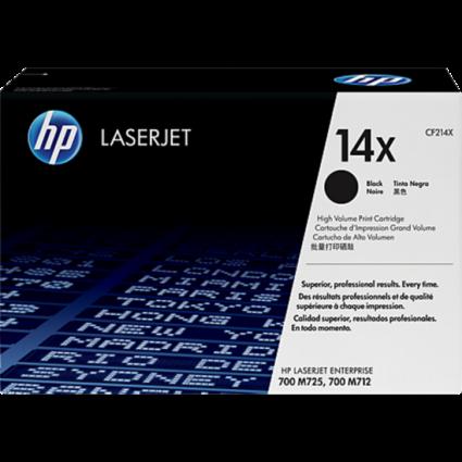 HP CF214X Toner Black 17,5k No.14X (Eredeti)