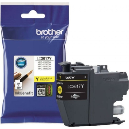 Brother LC3617Y tintapatron (Eredeti)