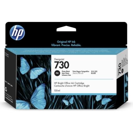 HP P2V67A Patron Photo Black 130ml No.730 (Eredeti)