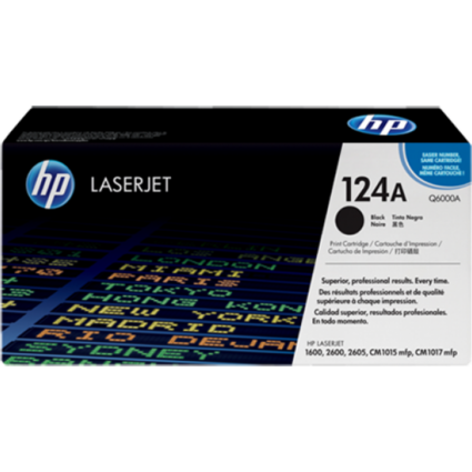 HP Q6000A Toner Black 2,5k No.124A (Eredeti)