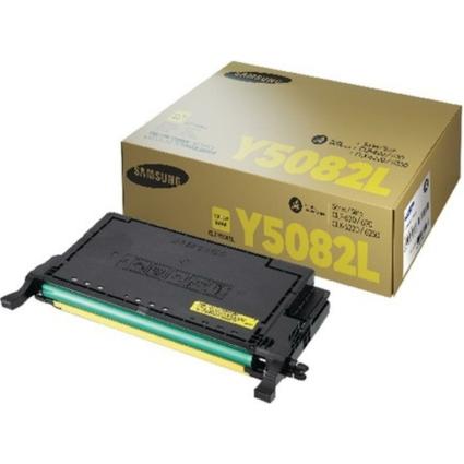 Samsung CLP 620/670B Yellow Toner 4k  CLT-Y5082L/ELS (SU532A) (Eredeti)