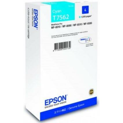 Epson T7562 Patron Cyan 1,5K (Eredeti)