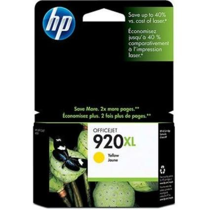 HP CD974AE Patron Yellow No.920XL (Eredeti)