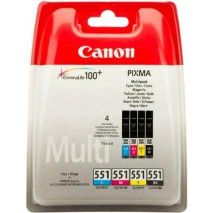 Canon CLI551 PatronMULTI C/M/Y/Bk