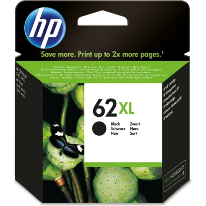 HP C2P05AE Patron Black No.62XL (Eredeti)
