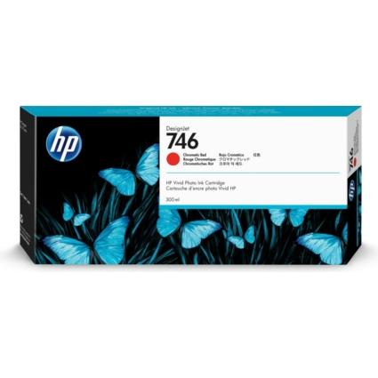 HP P2V81A Chromatic Red 300ml No.746 (Eredeti)