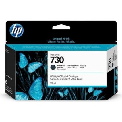 HP P2V65A Patron Matte Black 130ml No.730 (Eredeti)