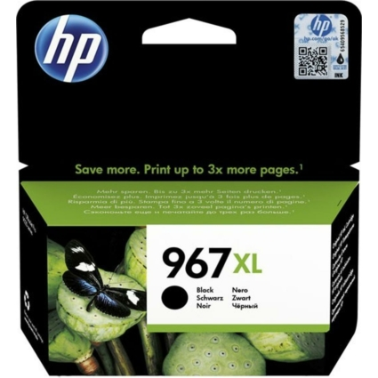 HP 3JA31AE Patron Black No.967XL (Eredeti)